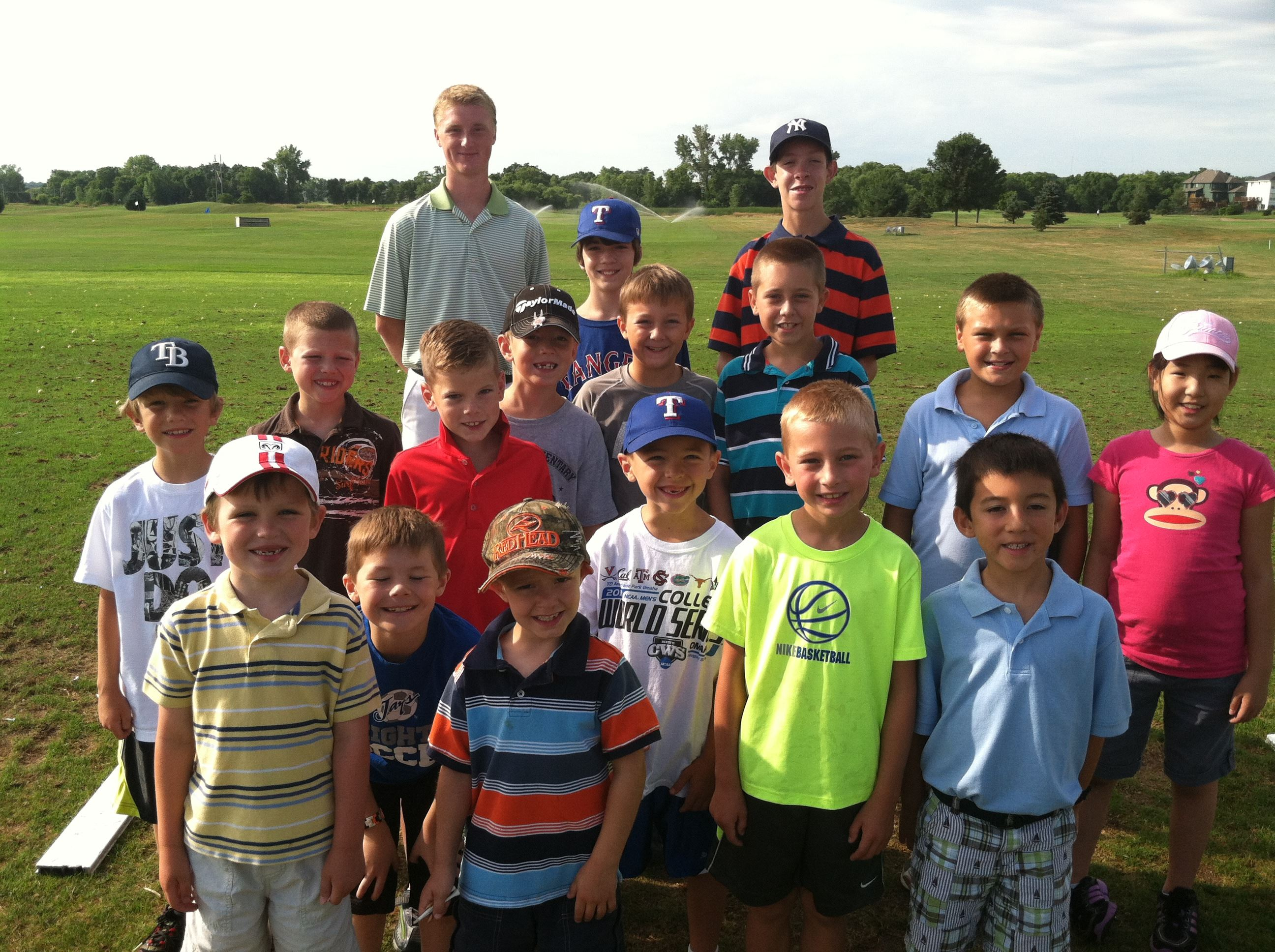 Junior Golfer Group