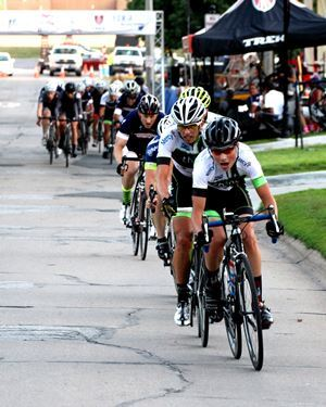 Bikers at Twilight Criterium