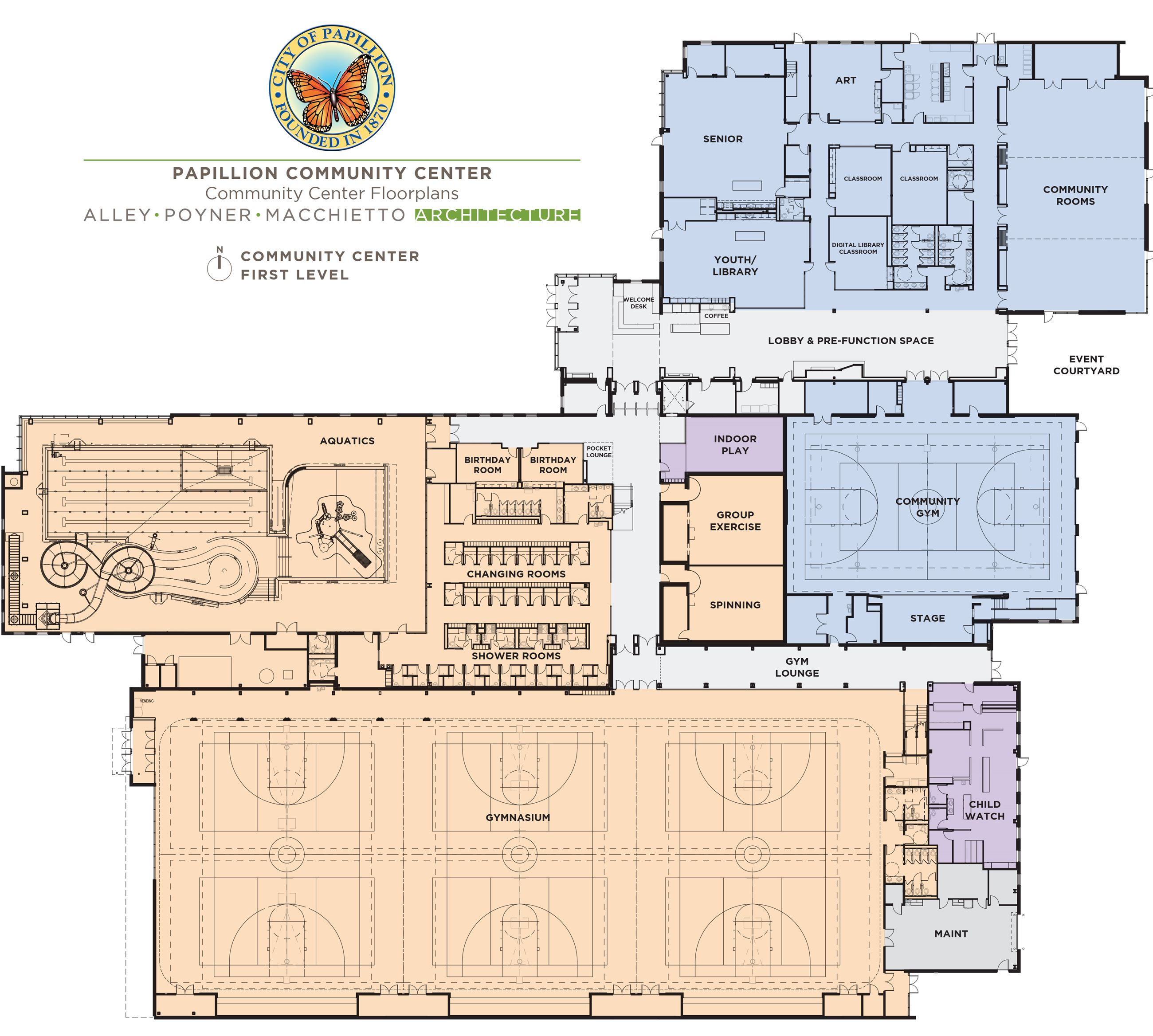 Community Center First Floor Plan