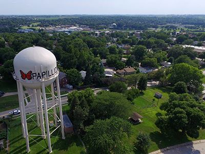 Papillion Water Tower