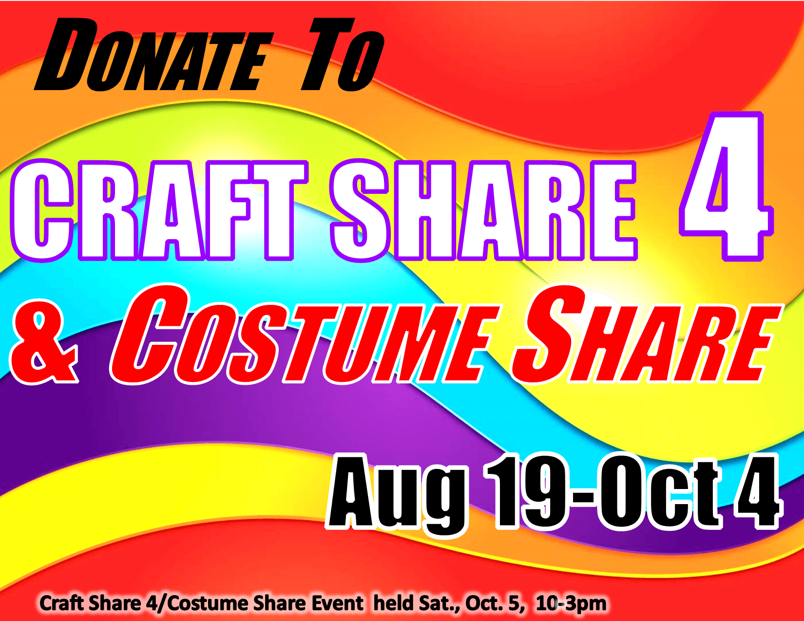 Craft Share 4 and Costume Share