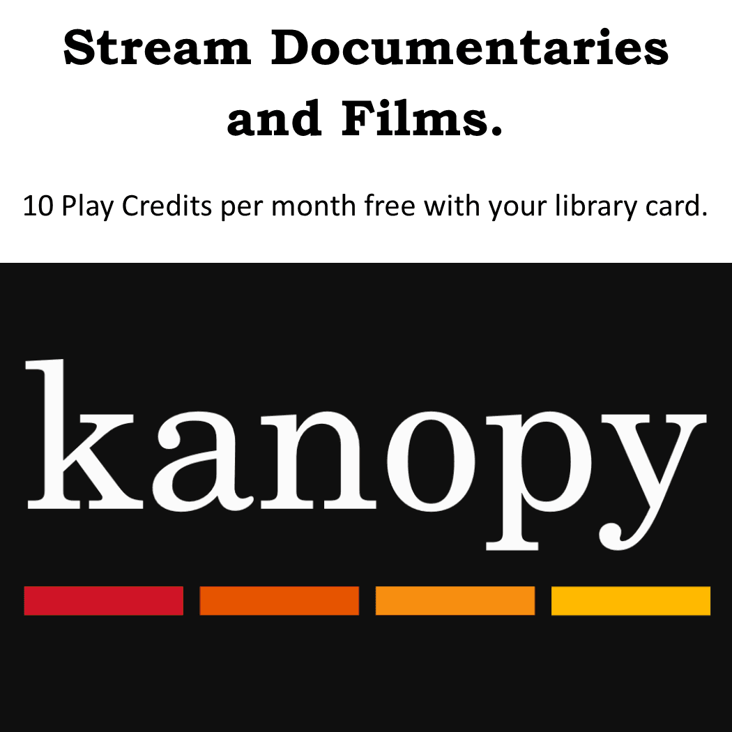 Kanopy Film Streaming