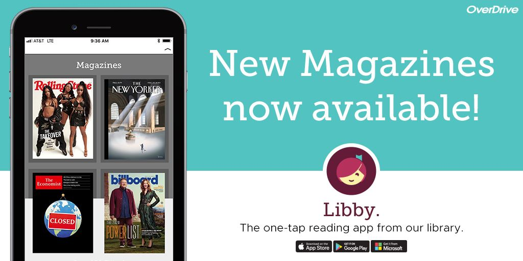 Click Here for Digital Magazines on Libby!